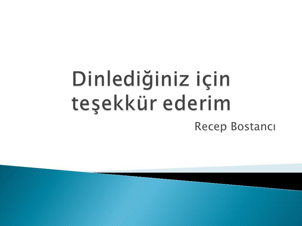 Recep Bostancı