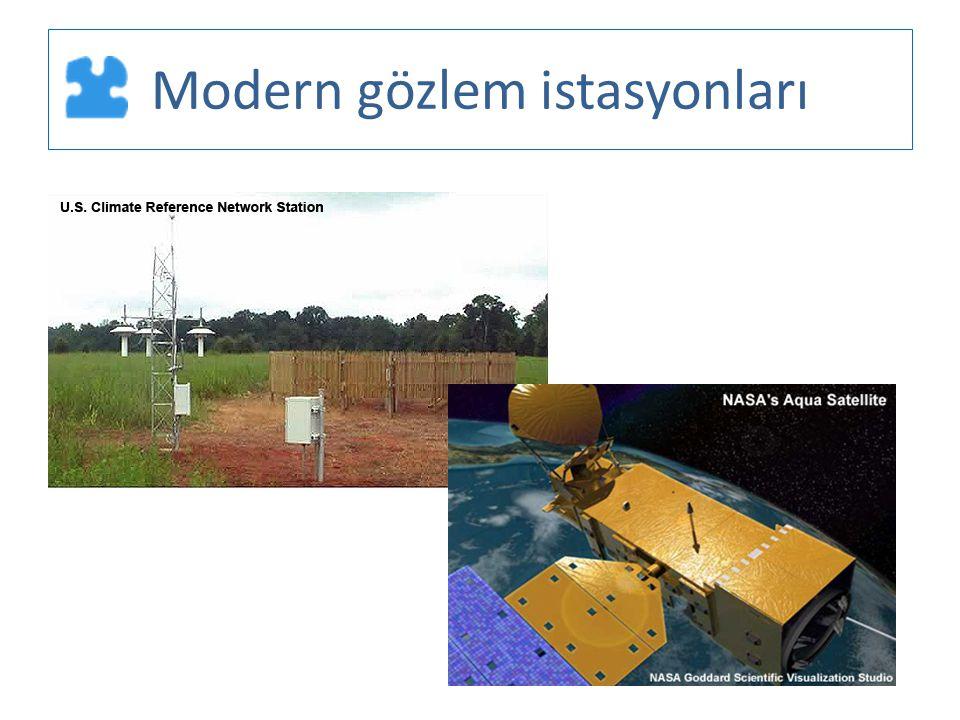 Modern gözlem istasyonları