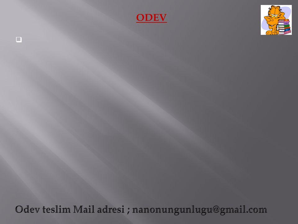 ODEV 
