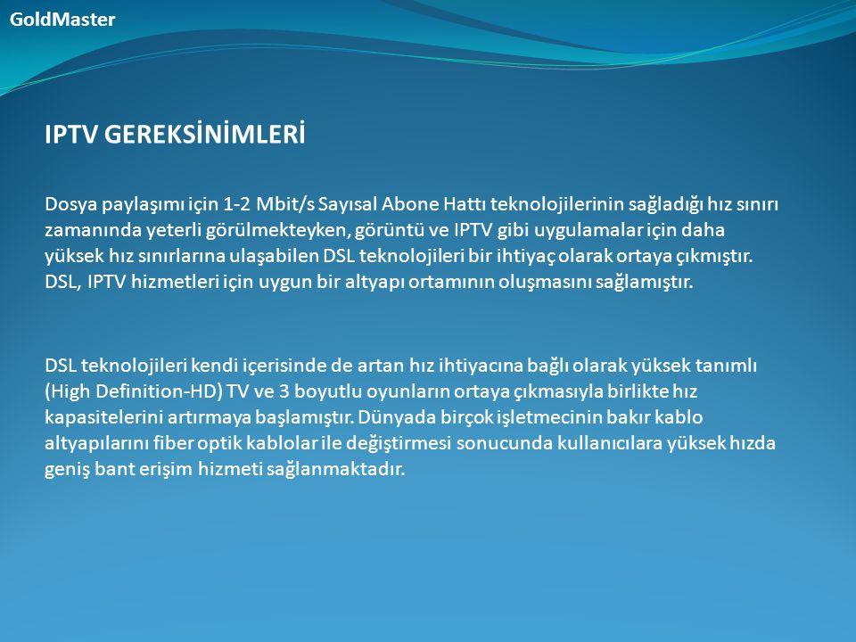 Dosya paylaşımı için 1-2 Mbit/s Sayısal Abone Hattı teknolojilerinin sağladığı hız sınırı zamanında yeterli görülmekteyken, görüntü ve IPTV gibi uygul