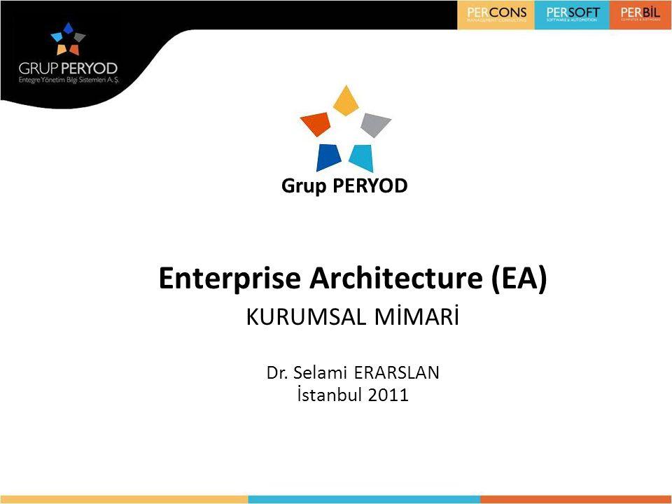 Enterprise Architecture (EA) KURUMSAL MİMARİ Dr. Selami ERARSLAN İstanbul 2011
