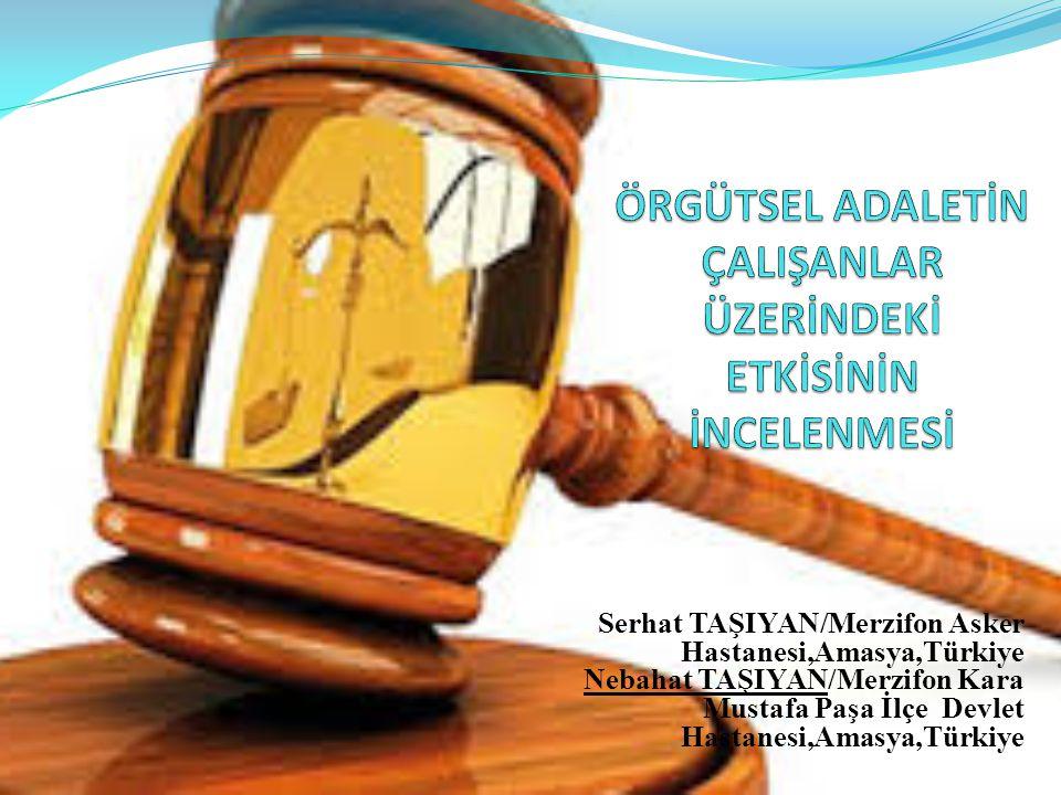SUNUM AKIŞI  Adalet Kavramının Tanımı  Örgütsel Adalet ve Tarihçesi  Örgütsel Adaletin Boyutları  Araştırmanın Tanımı  Araştırma Bulguları ve Tartışma  Sonuç ve Öneriler
