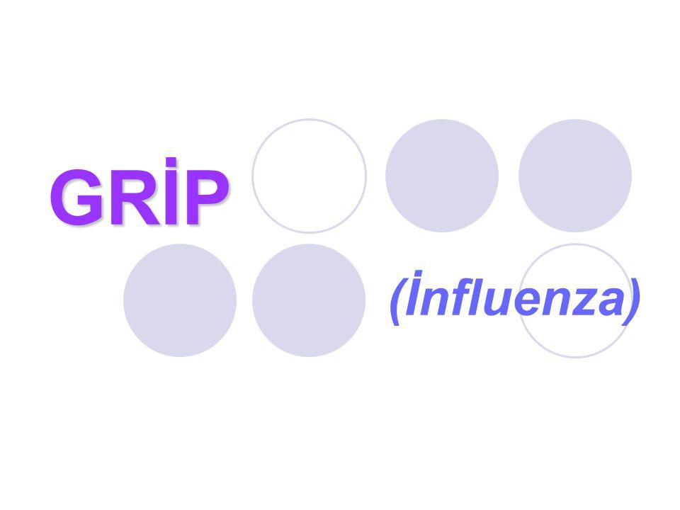 GRİP GRİP (İnfluenza)
