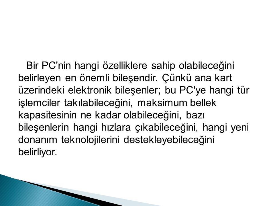 Bu port ise AGP ye alternatif olarak üretilmiştir.