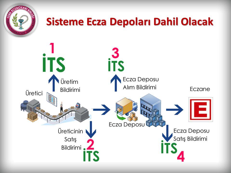 Sisteme Ecza Depoları Dahil Olacak