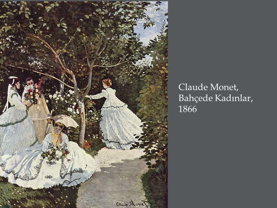 Claude Monet, Bahçede Kadınlar, 1866