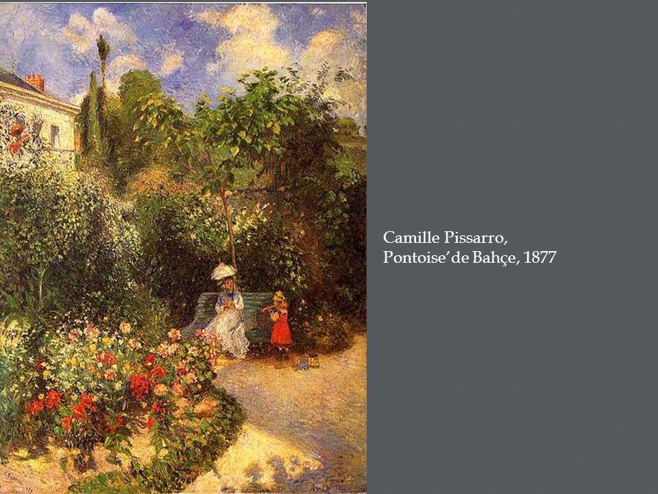 Camille Pissarro, Pontoise'de Bahçe, 1877