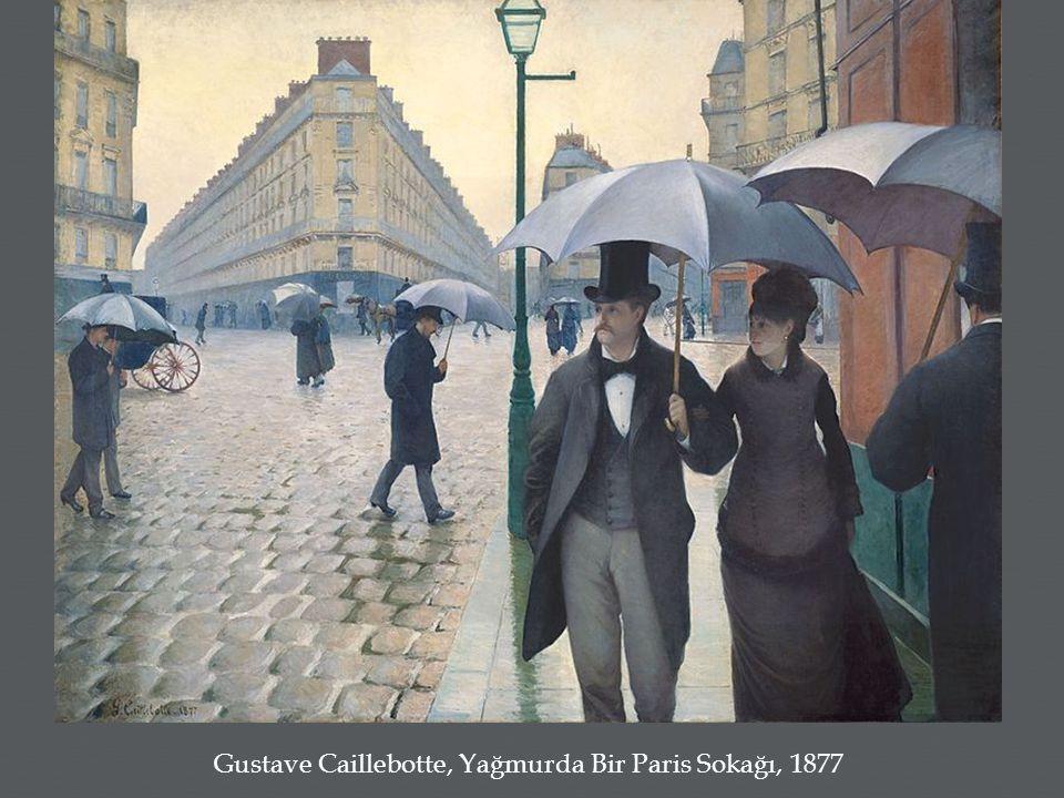 Gustave Caillebotte, Yağmurda Bir Paris Sokağı, 1877