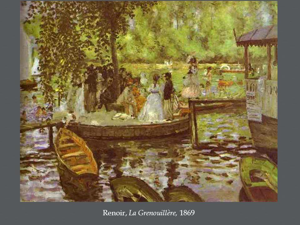 Renoir, La Grenouillère, 1869