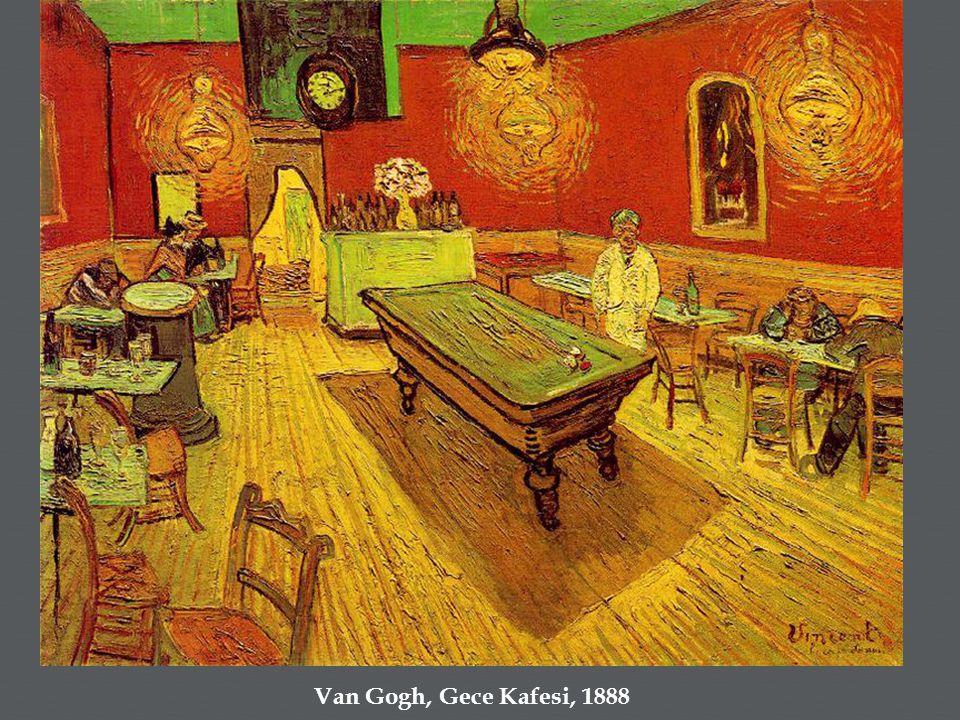  Van Gogh, Gece Kafesi, 1888