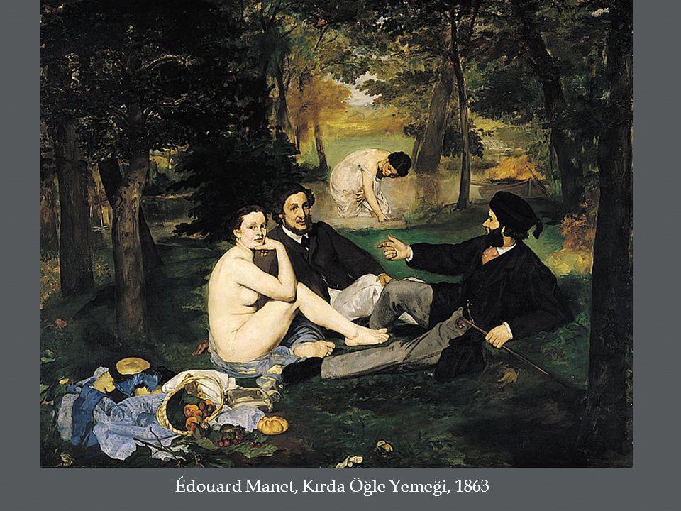 Édouard Manet, Kırda Öğle Yemeği, 1863