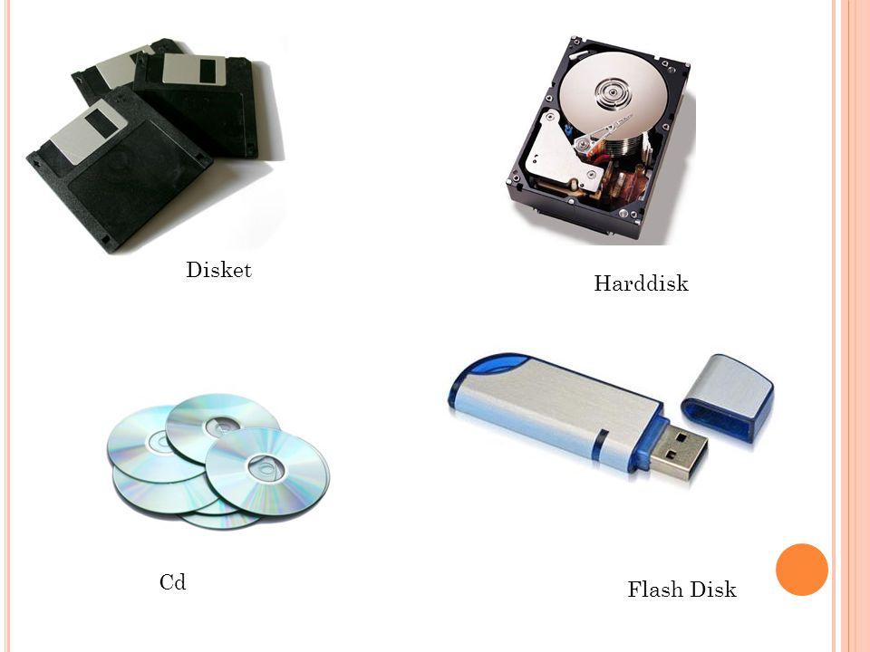Disket Cd Flash Disk Harddisk