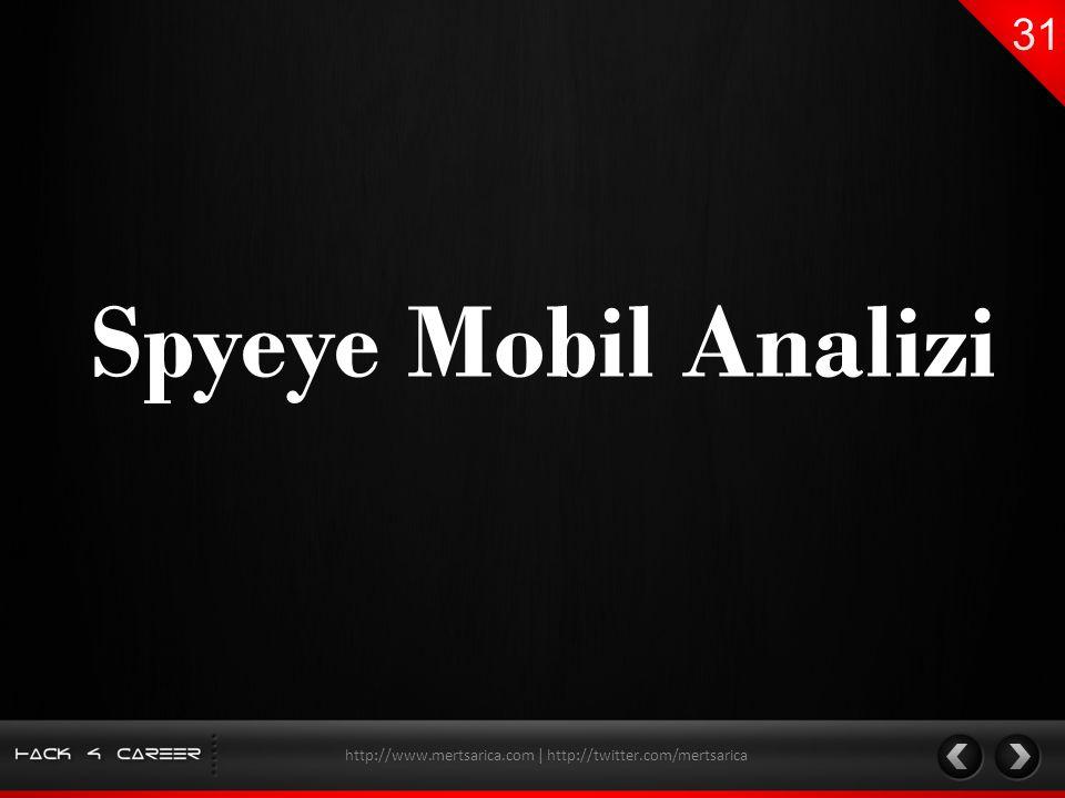 Spyeye Mobil Analizi http://www.mertsarica.com | http://twitter.com/mertsarica
