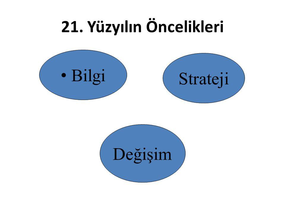Değişimde; – Aciliyet duygusu yaratılmalı – Güçlü bir değişim ekibi yaratılmalı – Uygun vizyon ve stratejiler geliştirilmeli, – Vizyonu tabana yaymalı ve gündemde tutulmalı, – Çalışanlar yetkilendirilmeli – Erken başarılar oluşturulmalı – Organizasyon kültürü dikkate alınmalıdır.