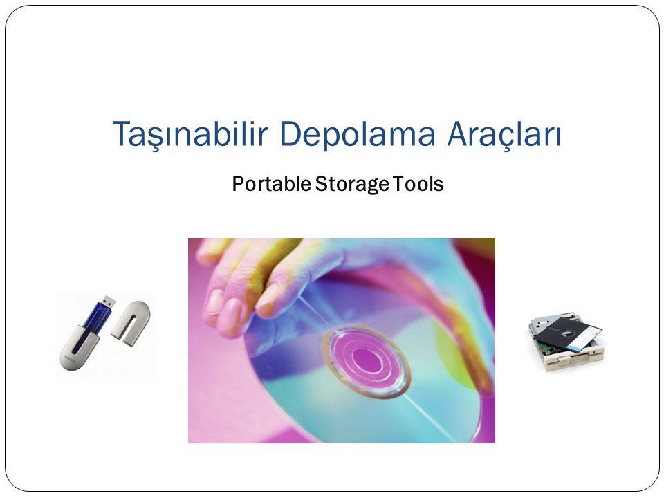 Taşınabilir Depolama Araçları Portable Storage Tools