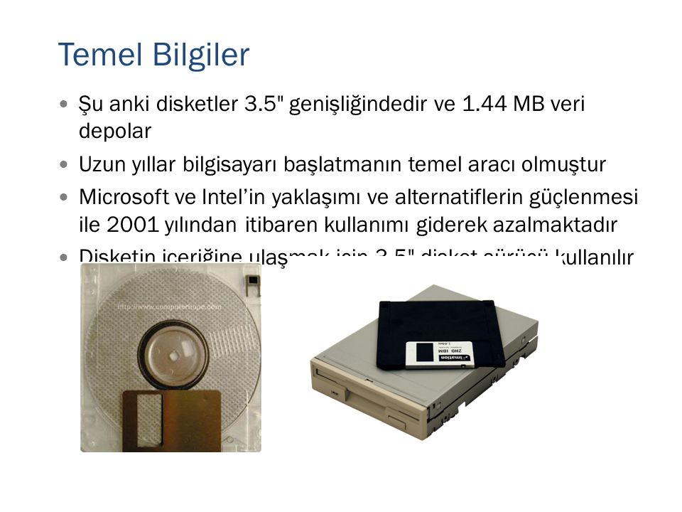  Şu anki disketler 3.5