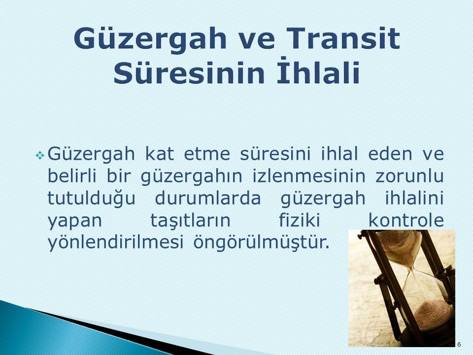  05/03/1993 tarihli Karayolu ile Uluslararası Eşya Taşıyan Araçların Seyir, Konaklama, Denetleme, Güvenlik ve Gümrük İşlemlerine Ait Yönetmelik yürürlükten kaldırılmıştır.