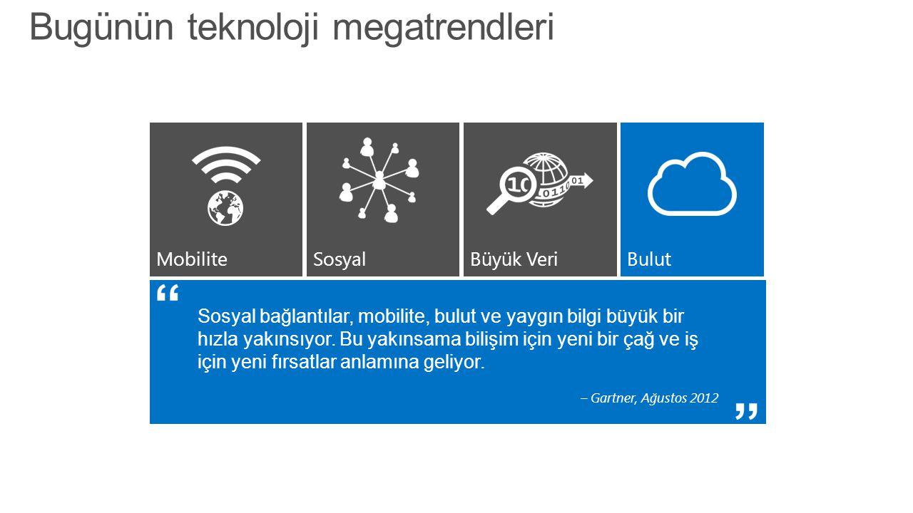 Yammer kullanımı Çabuk sosyal adaptasyon ve hızlı inovasyon Yammer uygulamasını ve kılavuzu kullanarak entegrasyon SharePoint 2013 sosyal kullanın Buluttan sağlanan hizmetten faydalanamayan kurumlar için