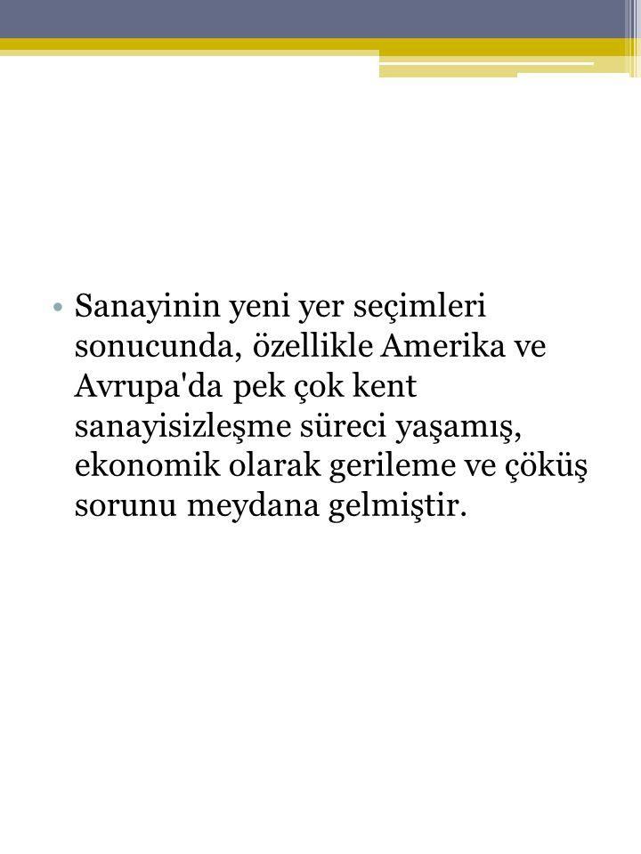 KENTSEL YOKSULLUK •Türkiye'de kent yoksullarına, belli bir sistem dahilinde ama tam olarak kurumsallaşmamış yardımlar yapılmaktadır.