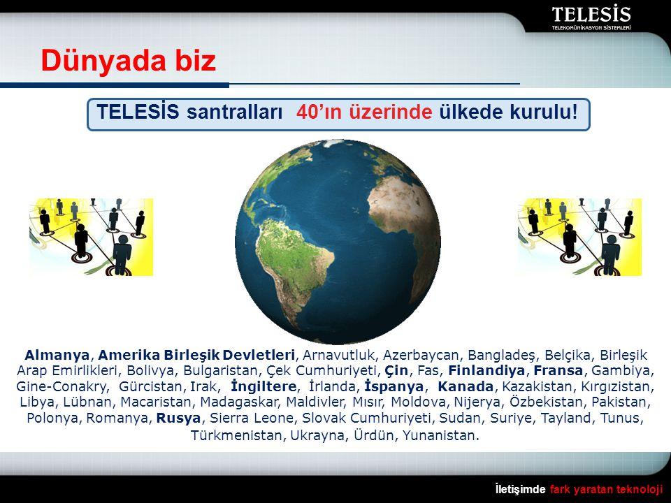 Telekom santrallerimiz İletişimde fark yaratan teknoloji Arnavutluk Azerbaycan Bulgaristan Gürcistan Pakistan Polonya
