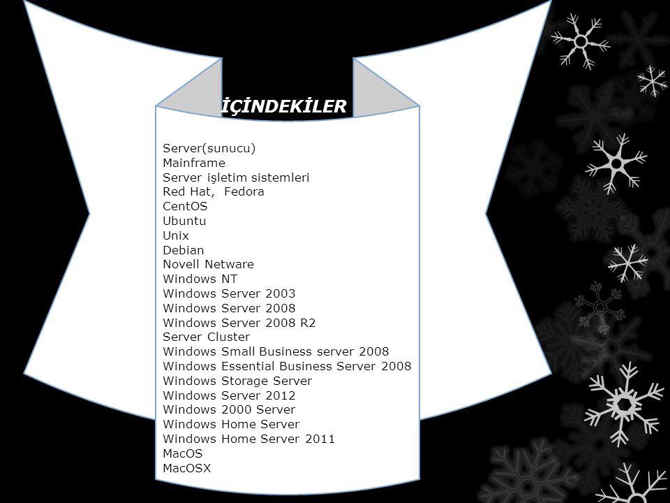 Sürümler Sürümler Apple Mac OS X Server 1.0 i Ocak 1999 da piyasaya sürdü.