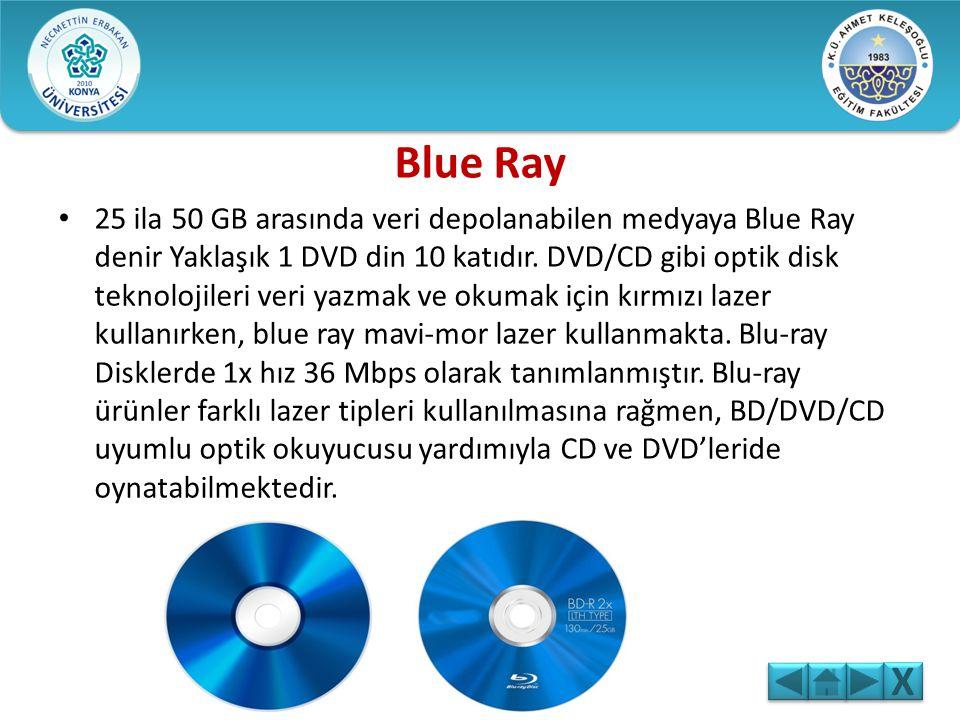 İlk DVD 1995 yılında üretilmiş öncelikle Amerika pazarında ve daha sonra tüm dünyada yaygın bir pazar payı elde etmiştir. DVD teknolojisi 4.7GB büyükl