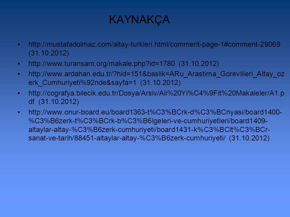 http://www.cografya.gen.tr/siyasi/devletler/turkmenistan.htm http://www.tarihsayfasi.com/ulkeler-tarihi/turkmenistanin- tarihi.html http://tr.wikipedi