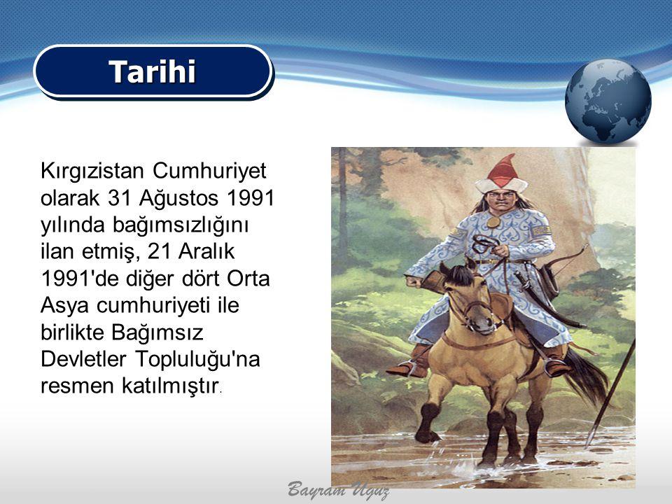 Kırgızistan Cumhuriyet olarak 31 Ağustos 1991 yılında bağımsızlığını ilan etmiş, 21 Aralık 1991'de diğer dört Orta Asya cumhuriyeti ile birlikte Bağım