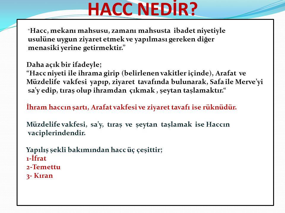 HACC NEDİR.