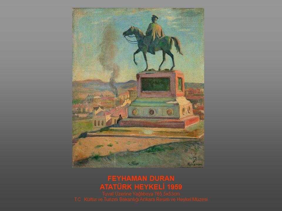 İBRAHİM ÇALLI İSMET İNÖNÜ / 1939 Tuval Üzerine Yağlıboya / 130X98cm MSGSÜ İstanbul Resim ve Heykel Müzesi Kol.