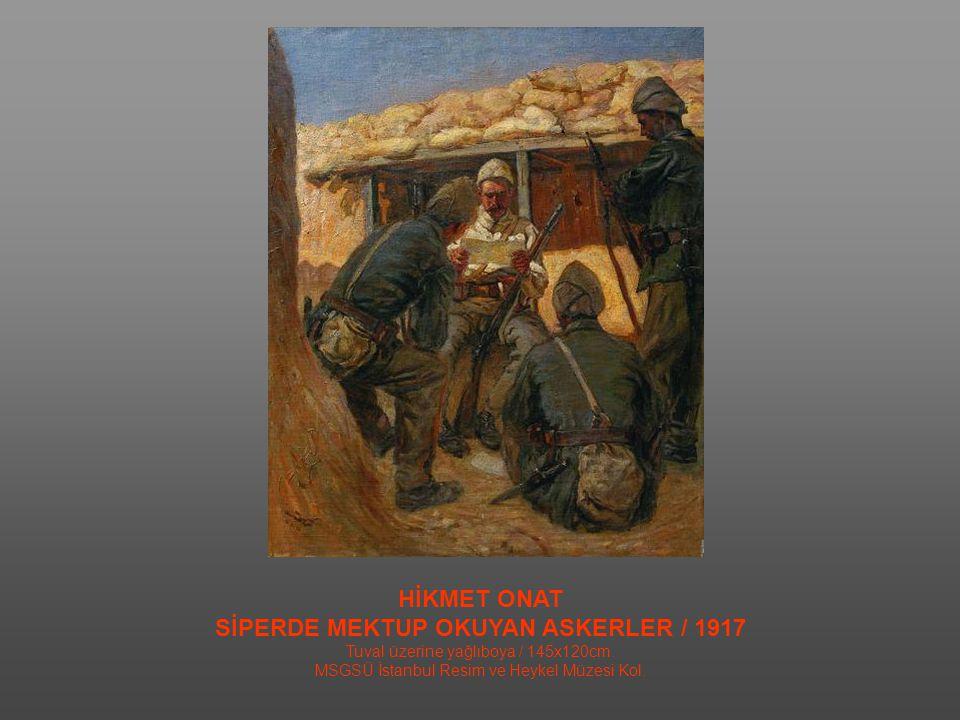 ZEKİ FAİK İZER İNKILAP YOLUNDA / 1933 Tuval Üzerine Yağlıboya / 176,5x237cm.
