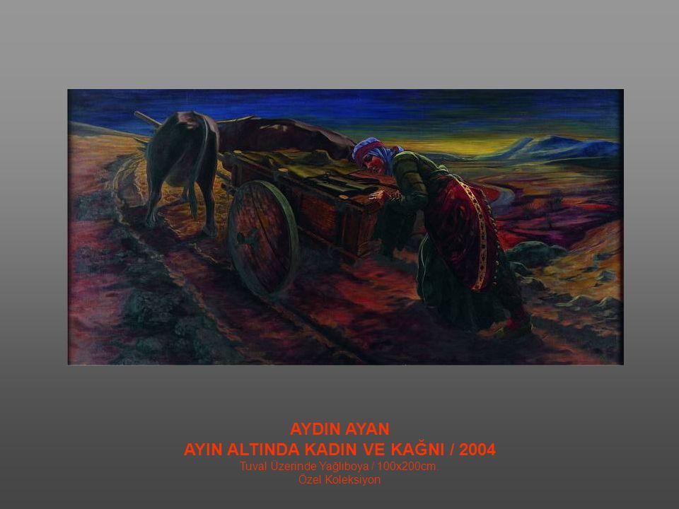 FİKRET OTYAM MUSTAFA KEMAL CEPHEDE / 2008 Tuval Üzerine Yağlıboya / 60x50cm. Özel Koleksiyon