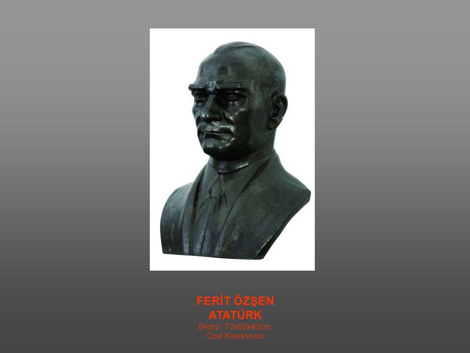 MERİÇ HIZAL ŞAPKA DENİR BUNA Taş Yontu / 35x35x17 cm. Özel Koleksiyon
