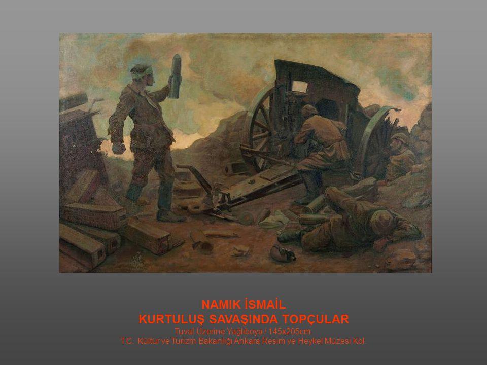 REFİK EPİKMAN İLK MECLİS / 1960 Tuval Üzerine Yağlıboya / 100x141 cm.