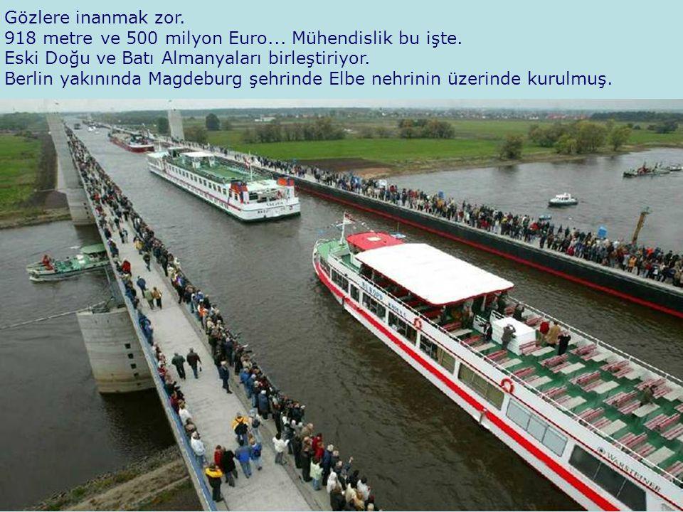 Şimdi bilin bakalım: Köprünün hesaplarında ne gibi bir yük emniyet katsayısı öngörülmüş olması gerekir ki, 8 ila 10 gemi birden köprü üzerinde aynı anda bulunursa herhangi bir çökerti olmasın?