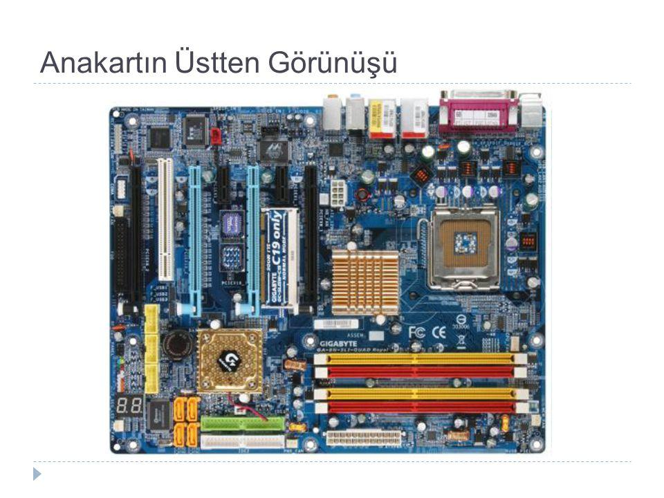 AGP Grafik Kartı (Ekran Kartı) Konfigürasyonları F: Universal AGP (2X/4X) graphics card in an AGP Universal (2X/4X) slot.