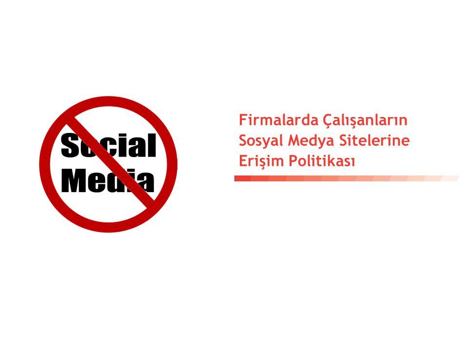 9 Çalışanların Sosyal Medya Sitelerine Erişimine Yönelik Firma Politikası Baz= 75