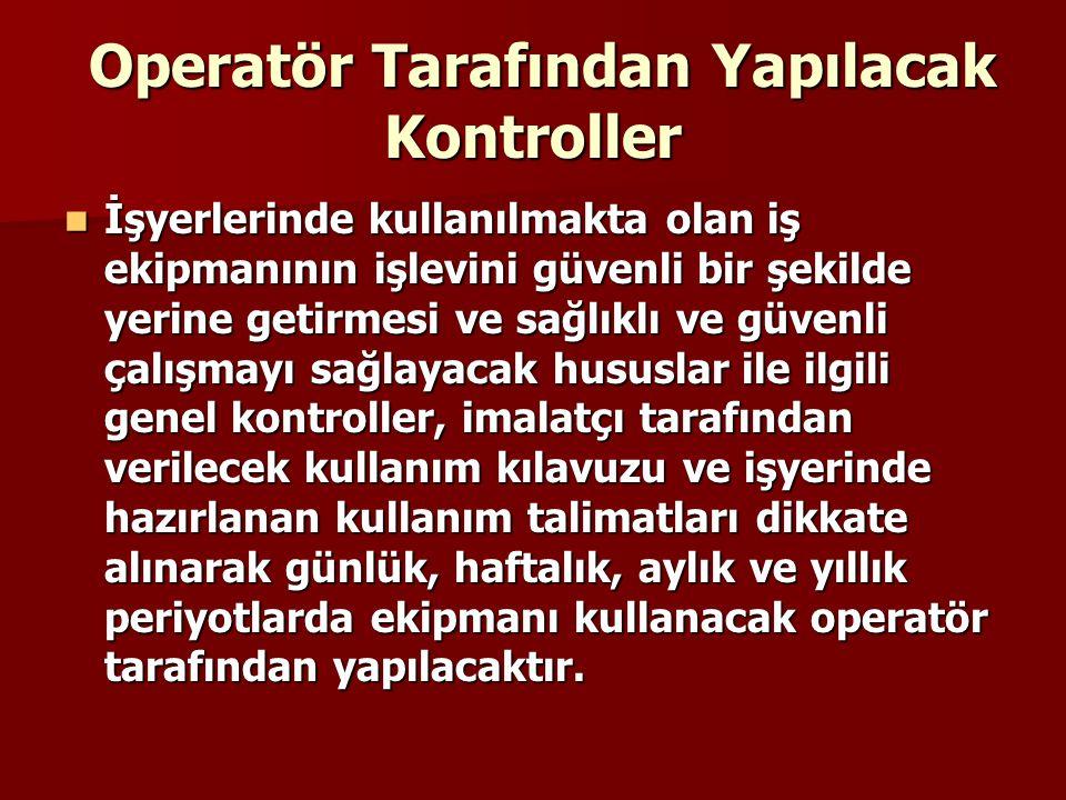  (3) Her işveren, asansörlere ait kullanma iznini ve periyodik kontrol raporlarını, işyerinde bulundurmak ve denetlemeye yetkili makam ve memurların her isteyişinde göstermek zorundadır.