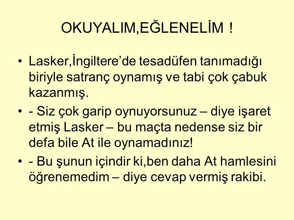 OKUYALIM,EĞLENELİM.