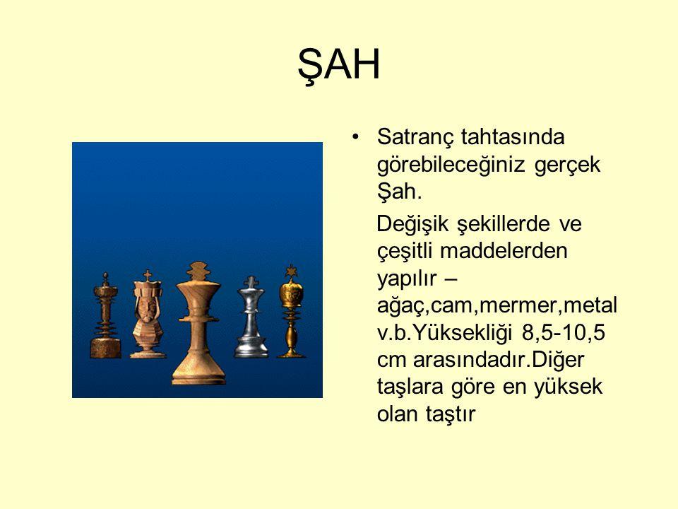 ŞAH ŞAH k