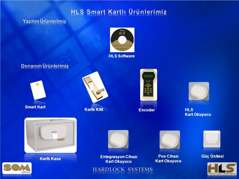 HARDLOCK SYSTEMS HLS Software Smart Kart Kartlı Kilit Encoder HLS Kart Okuyucu Kartlı Kasa Entegrasyon Cihazı Kart Okuyucu Pos Cihazı Kart Okuyucu Güç Ünitesi