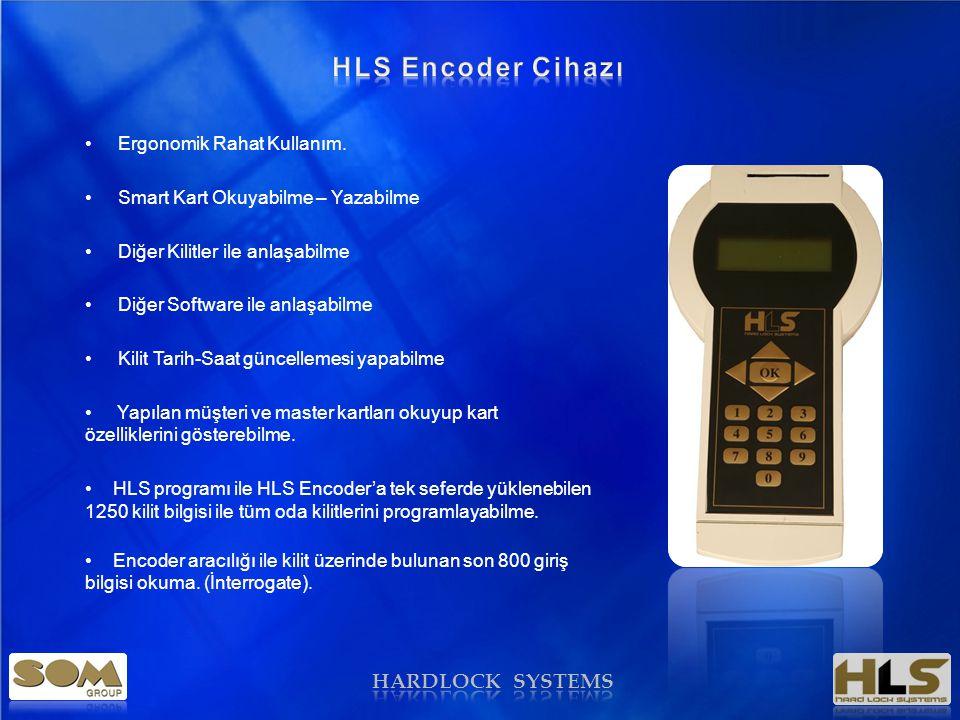 HARDLOCK SYSTEMS • Ergonomik Rahat Kullanım.
