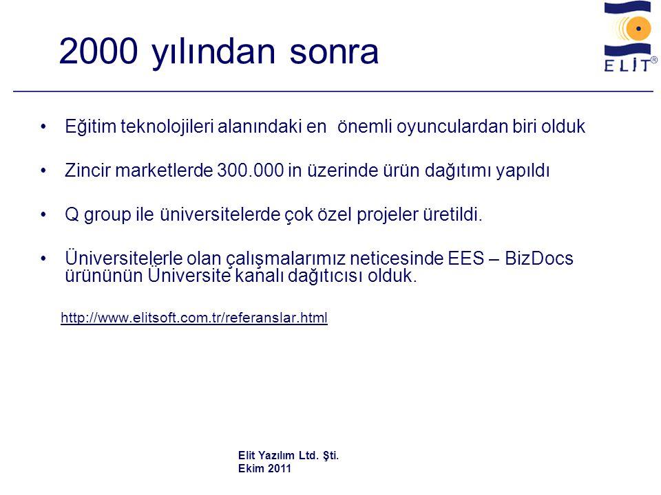 Dünya Bankası destekli MEB ihalelerindeki hizmetlerimiz •1995 - MEB 53 BDO okulu •1996 - MEB 341 ticaret lisesi •1997 - YÖK - 34 eğitim fakültesi •199