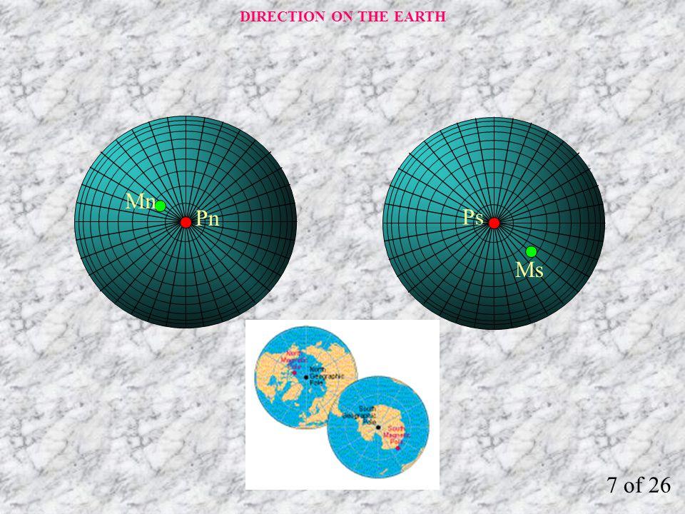 Manyetik kutuplar her zaman yer değiştirmektedir.
