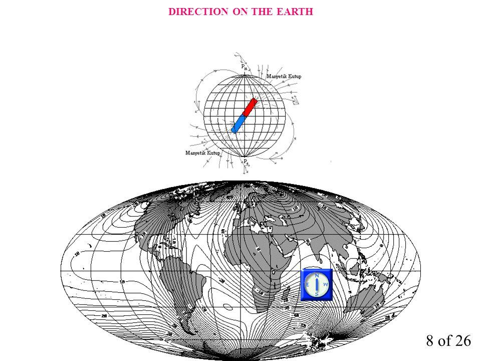 KERTE HATTI Kerte Hattı (Rhump Line) : Meridyenleri aynı açı ile kesen doğruya denir.