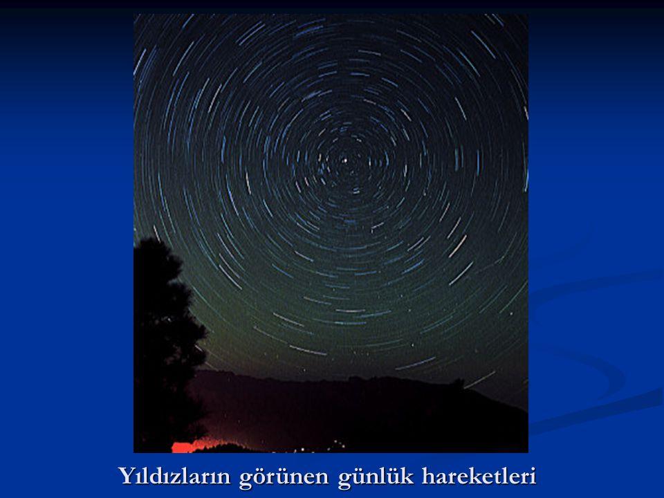 Yıldızların görünen günlük hareketleri