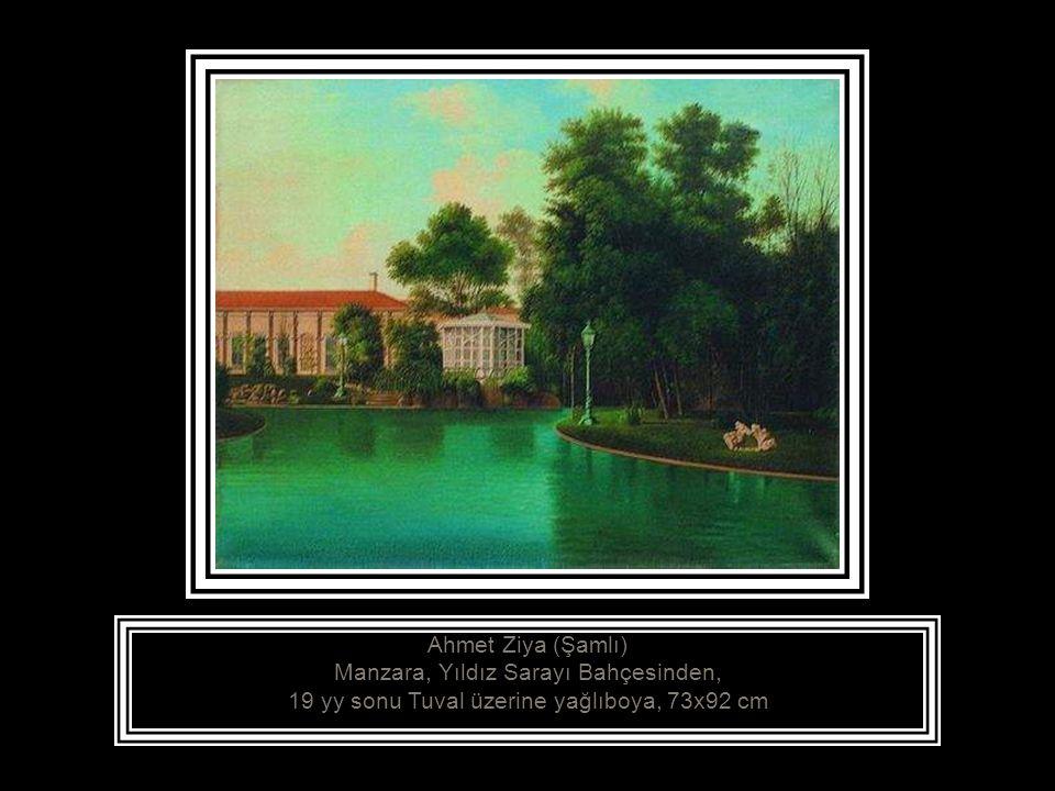 Ahmet Şekür, (1856 - .) Önünden Dere Geçen Bir Köy, 19.