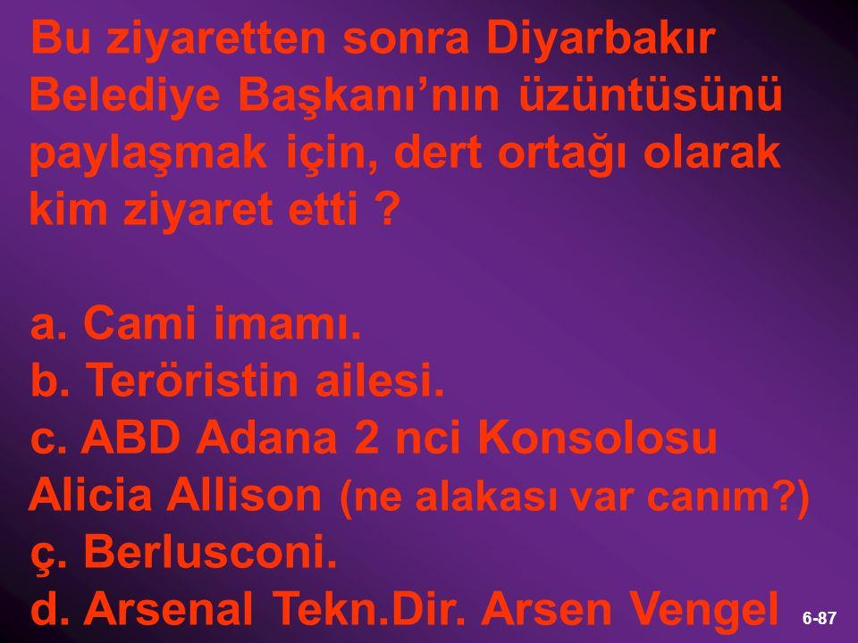 7-87 c. ABD Adana 2. Konsolosu Alicia Allison.