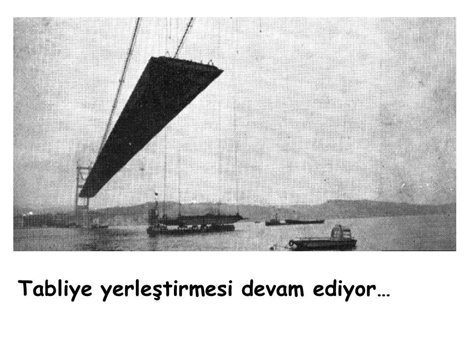 26 Mart 1973 Son tabliye, denizden, yerine konulmak için getiriliyor…