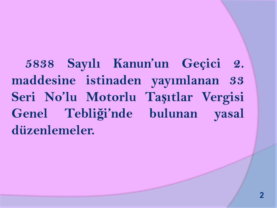 5838 Sayılı Kanun'un Geçici 2.